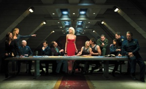 The Last Supper on Galactica